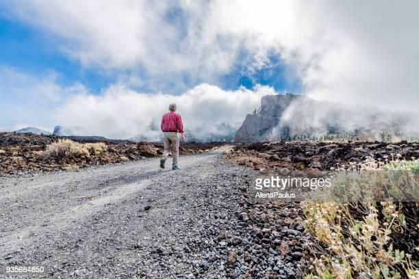reSenior man exploring Tenerife