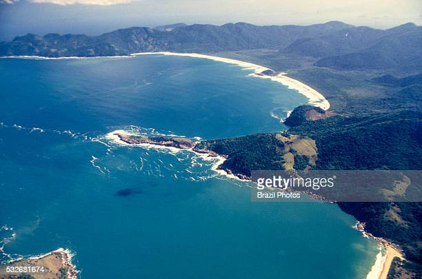 Reserva Biologica Estadual da Praia do Sul in Ilha Grande an island located off the coast of Rio de Janeiro state in Brazil which is part of the...