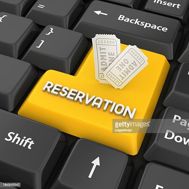 reservation enter key
