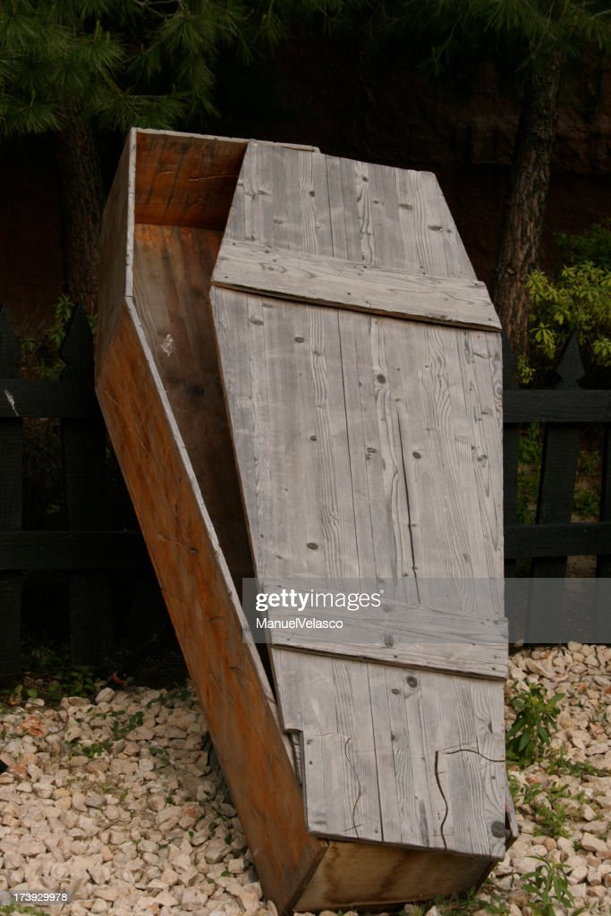 reserved coffin : Stock Photo