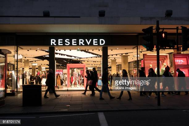 Reserved store seen in London famous Oxford street Central London is one of the most attractive tourist attraction for individuals whose willing to...