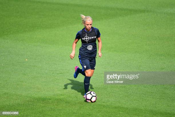 Reservist Marion Torrent of France during the France women's training session at Centre National du Football on June 22 2017 in Clairefontaine France