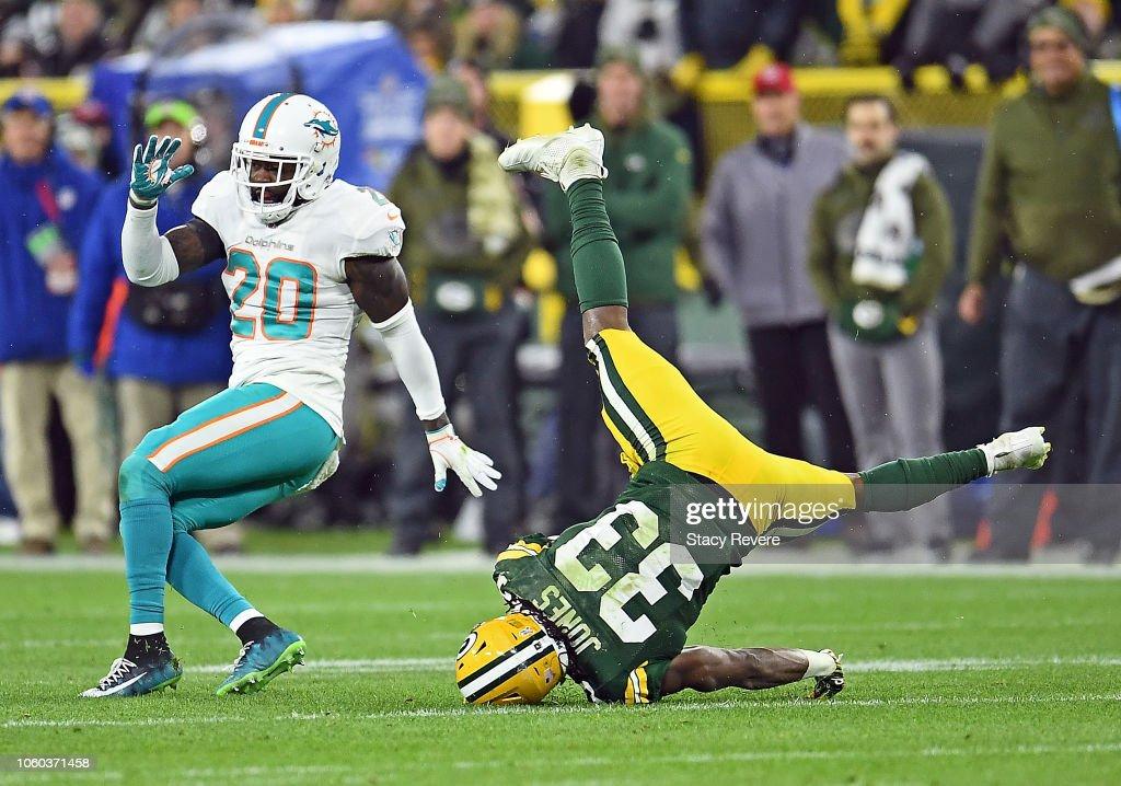 Miami Dolphins v Green Bay Packers : News Photo