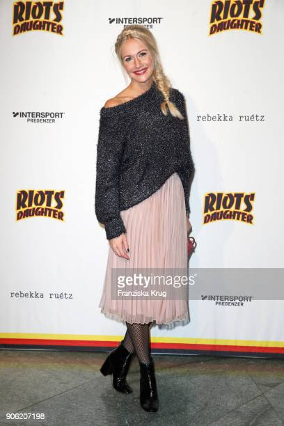 Resi Colter during the Rebekka Ruetz Fashion Show at Embassy of Austria on January 17 2018 in Berlin Germany