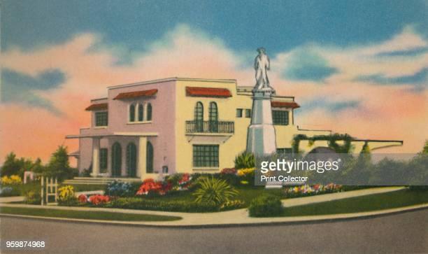 Residence in Altos del Prado, Barranquilla', circa 1940s. From Barranquilla. [Raul de la Espriella B., Barranquilla]. Artist Unknown.
