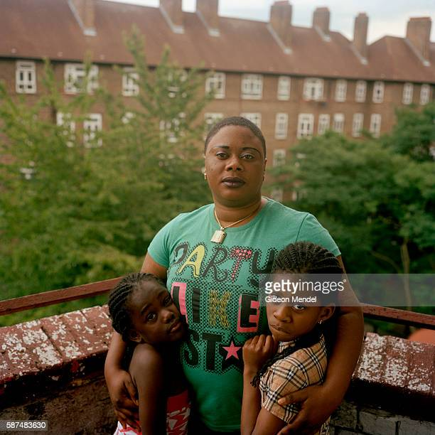Resident of the Kingsmead Estate in Homerton in the eastern part of Hackney with her daughters. She is a recent immigrant from Africa and a single...