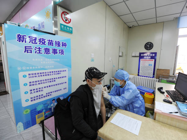 CHN: Residents Receive Booster Dose Of COVID-19 Vaccine In Changchun