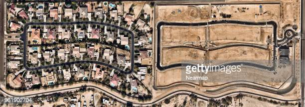 Residental Area in Phoenix, Arizona, USA