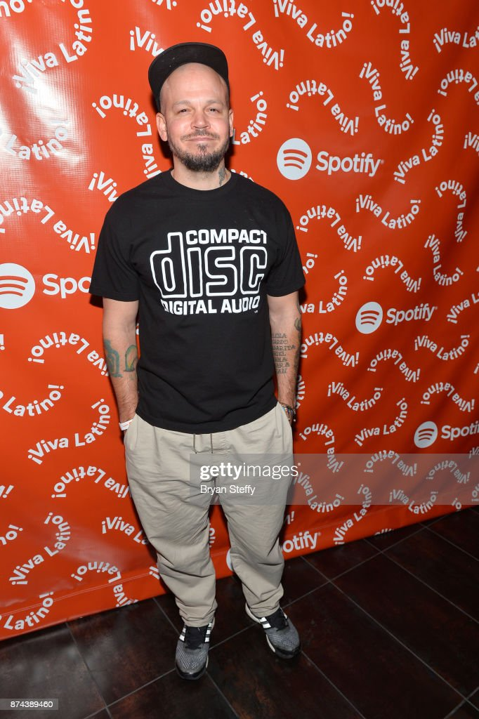 Residente at Spotify Celebrates Latin Music and Their Viva Latino Playlist at Marquee Nightclub on November 14, 2017 in Las Vegas, Nevada.