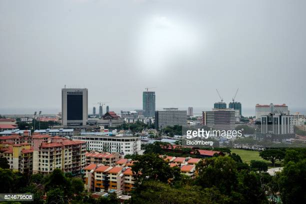 Residential and commercial buildings stand in Kuala Terengganu Terengganu Malaysia on Tuesday July 25 2017 With a federal election due within 12...
