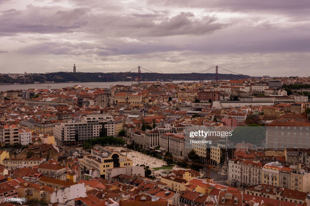 Portugal's Capital As Europe Seeks to Salvage Summer Tourism : News Photo