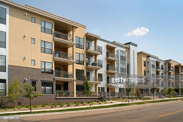 Residential Apartment Building in Real Estate Housing and Construction Industry