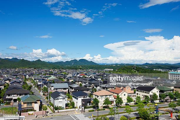 residential area. hyogo prefecture, japan - 兵庫県 ストックフォトと画像
