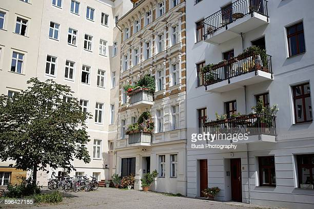 Residential area in Berlin, district of Mitte