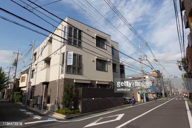 residential area in nishi-ogikubo, suginami ward, tokyo, japan - suginami stock photos and pictures