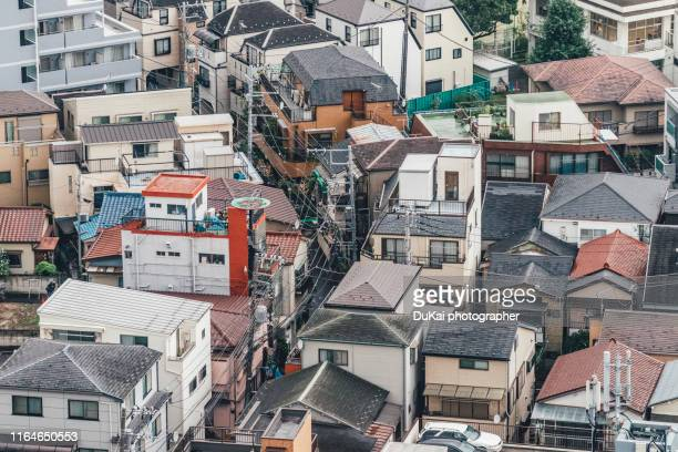 residential area in tokyo - シンプルな暮らし ストックフォトと画像