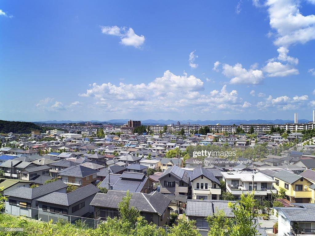 Residential area kobe hyogo prefecture japan stock photo getty images kobe hyogo prefecture japan stock photo publicscrutiny Images