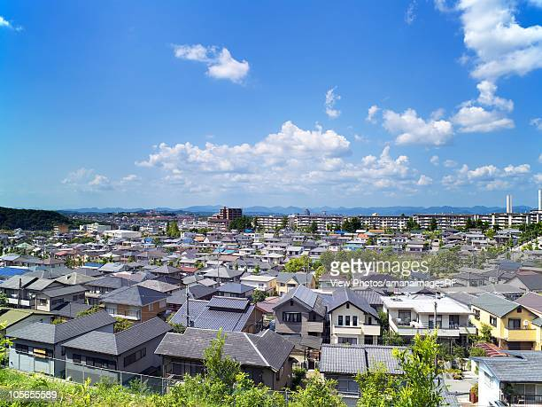 Residential Area. Kobe, Hyogo Prefecture, Japan