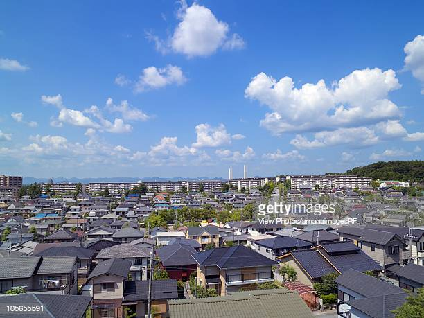 Residential Area. Kobe, Hyogo Prefecture, Japan