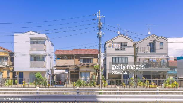 residential area, tokyo, japan - image stock pictures, royalty-free photos & images