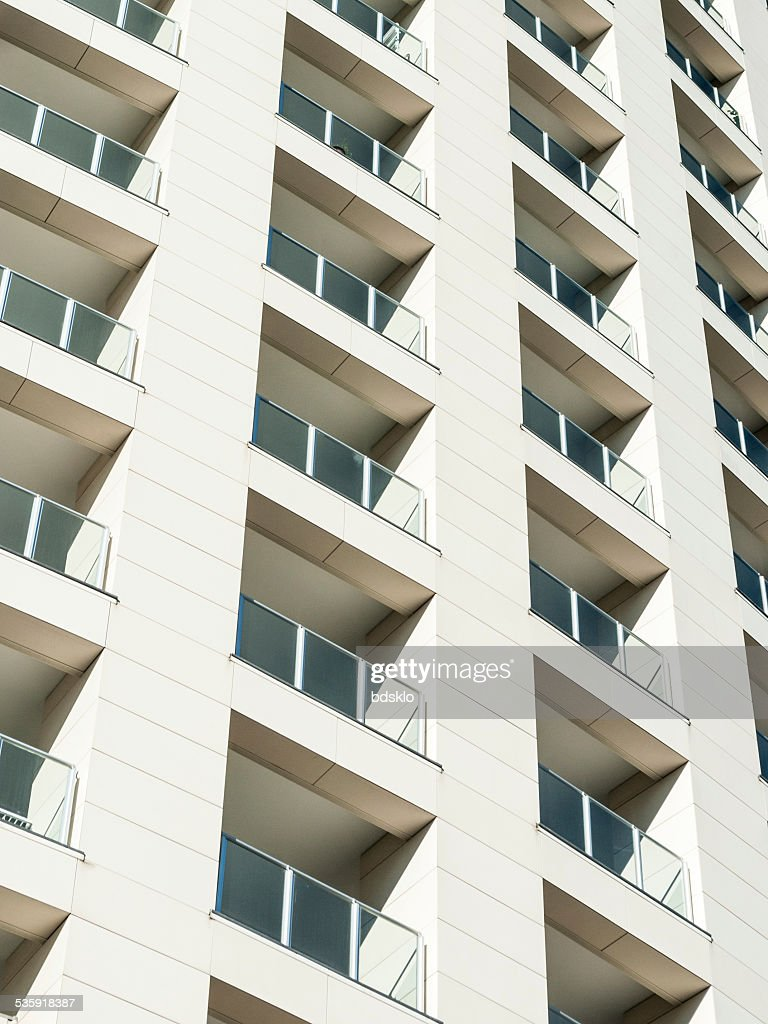 Residential building facade : Stock Photo