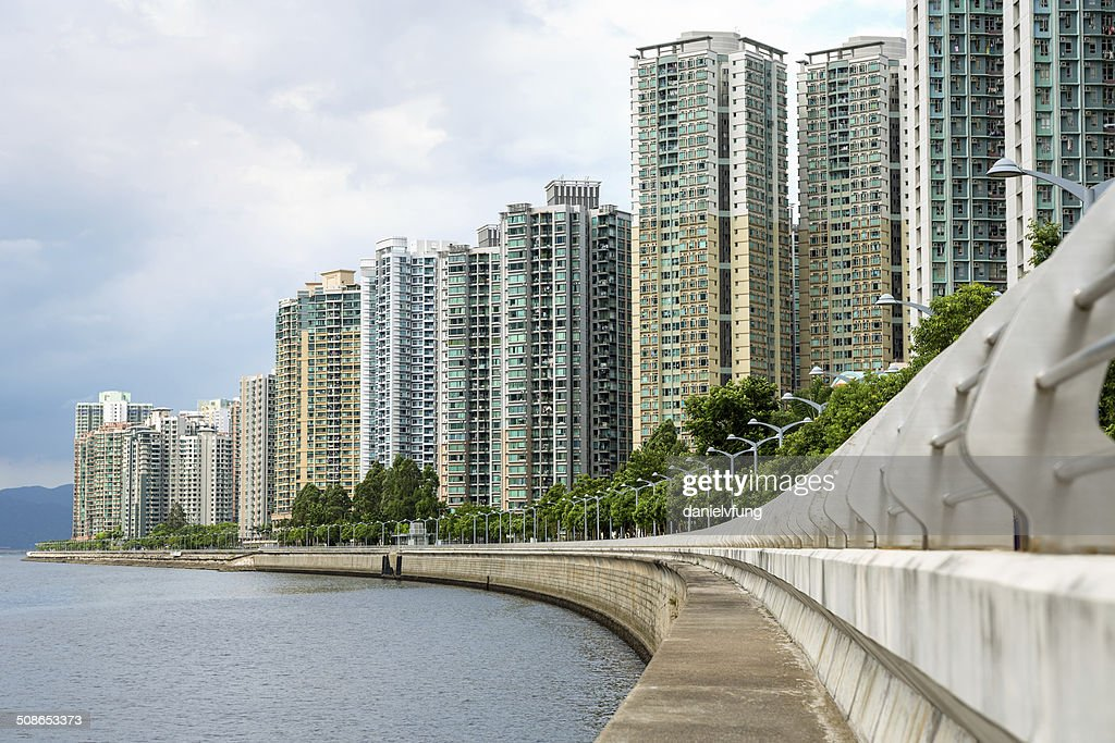 Residential building in Hong Kong : Stock Photo