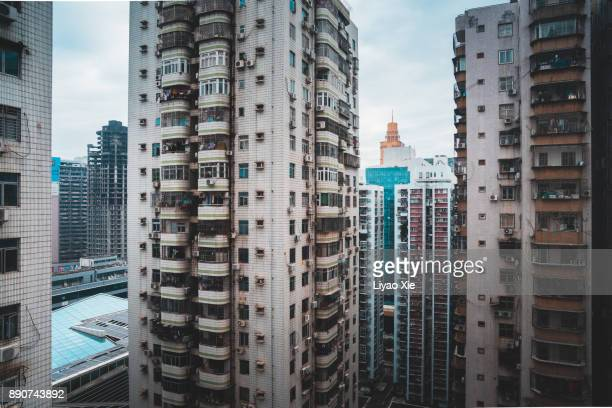residential building - liyao xie stock pictures, royalty-free photos & images