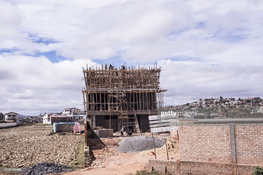 Madagascar's Capital City As Economic Growth Projected To Continue