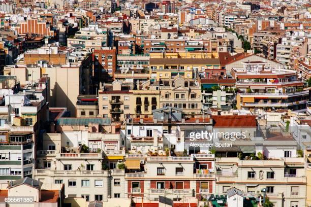 Residential buildings in Barcelona, Catalonia, Spain