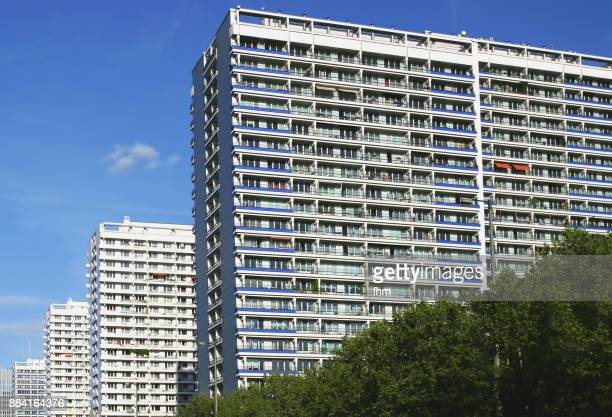 Residential buildings in Berlin, Germany