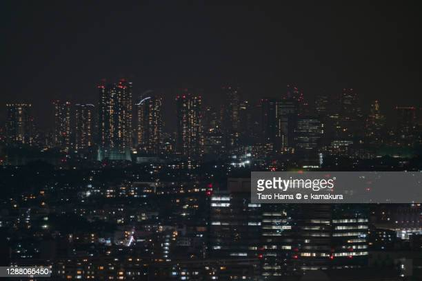 residential buildings in yokohama and kawasaki cities of japan - taro hama ストックフォトと画像