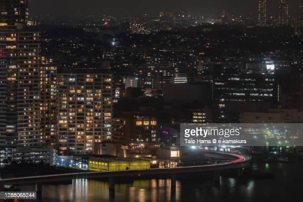 residential buildings in yokohama city of japan - taro hama ストックフォトと画像