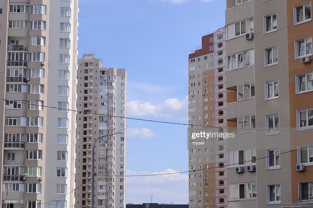 Residential Buildings : Stockfoto