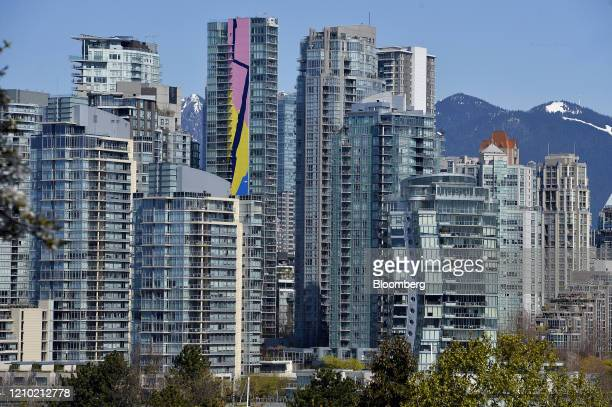 Residential buildings stand in Vancouver British Columbia Canada on Thursday April 16 2020 As its oil sector shriveled in recent years Canada's...