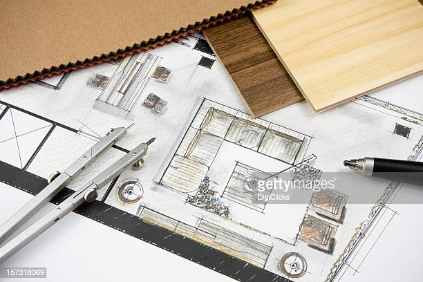 residential concept - home showcase interior stock pictures, royalty-free photos & images