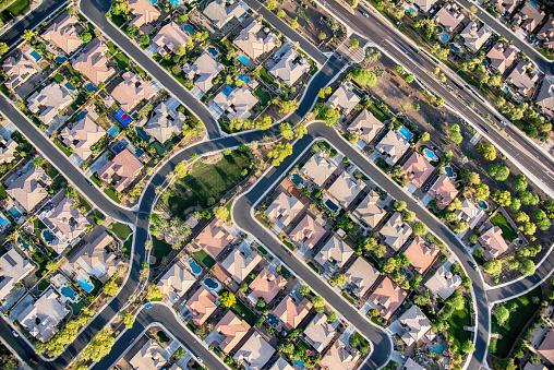 Residential Development Aerial 1066713660