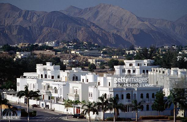 Residential disctrict in Masqat Oman