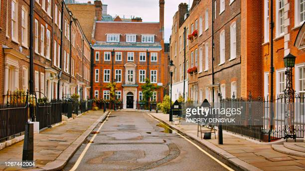 residential district. house. london - central london stock pictures, royalty-free photos & images
