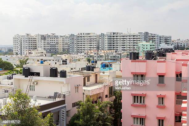 Residential district, Hyderabad, India