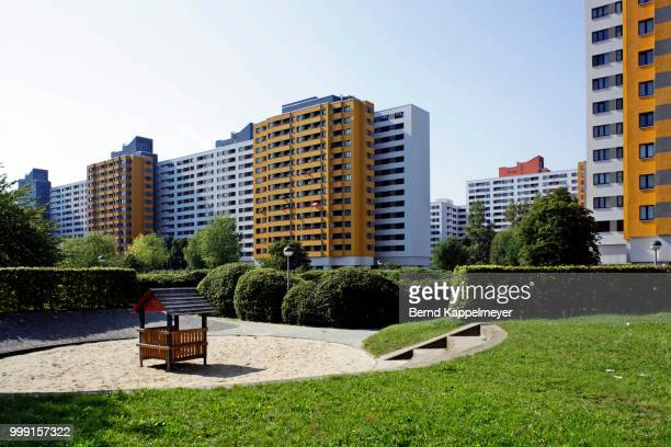 Residential district, Maerkisches Viertel, Berlin, Germany