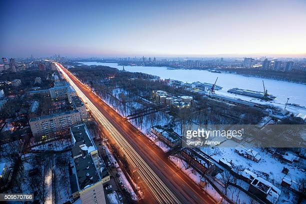 Residential district of Moscow