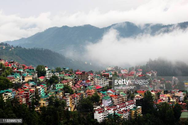 residential district - kathmandu stock pictures, royalty-free photos & images