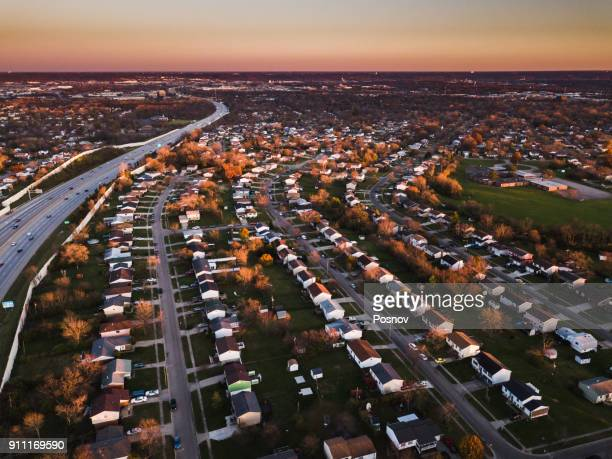 residential district - cincinnati stock pictures, royalty-free photos & images