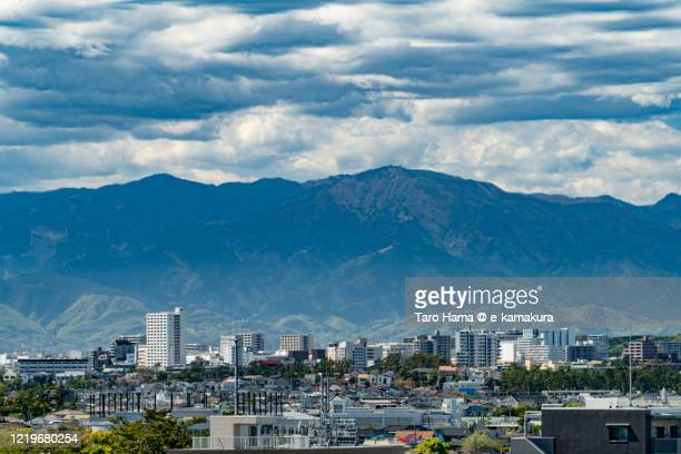 residential districts in kanagawa prefecture of japan - chigasaki stock pictures, royalty-free photos & images