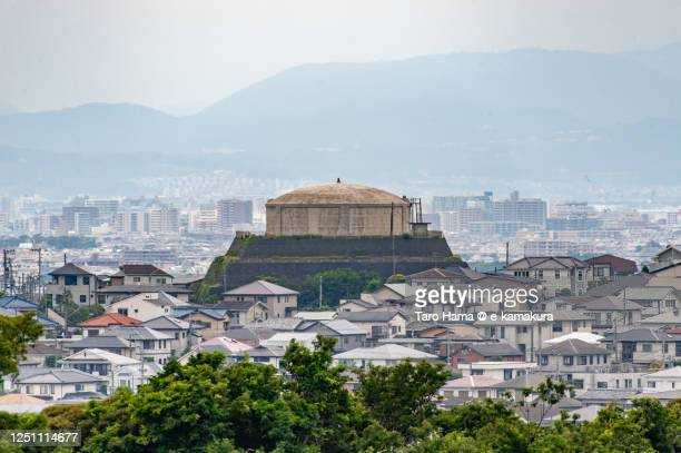 residential districts on the hill in kanagawa prefecture of japan - chigasaki stock pictures, royalty-free photos & images