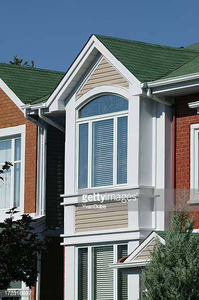 Residential house close-up