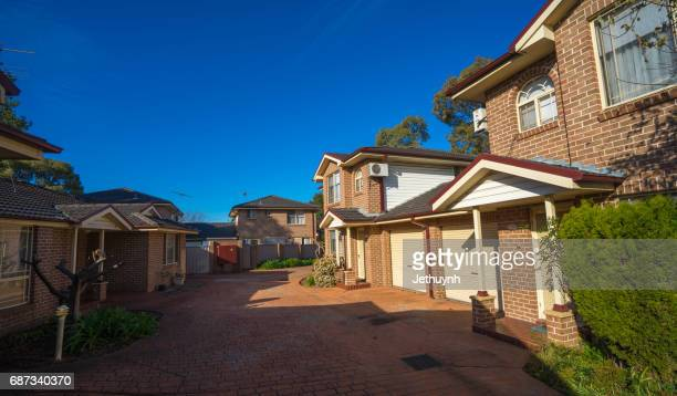 New South Wales, Sydney, Australia - July 14, 2015 : Residential house in Cabramatta, Sydney's Vietnamese district.