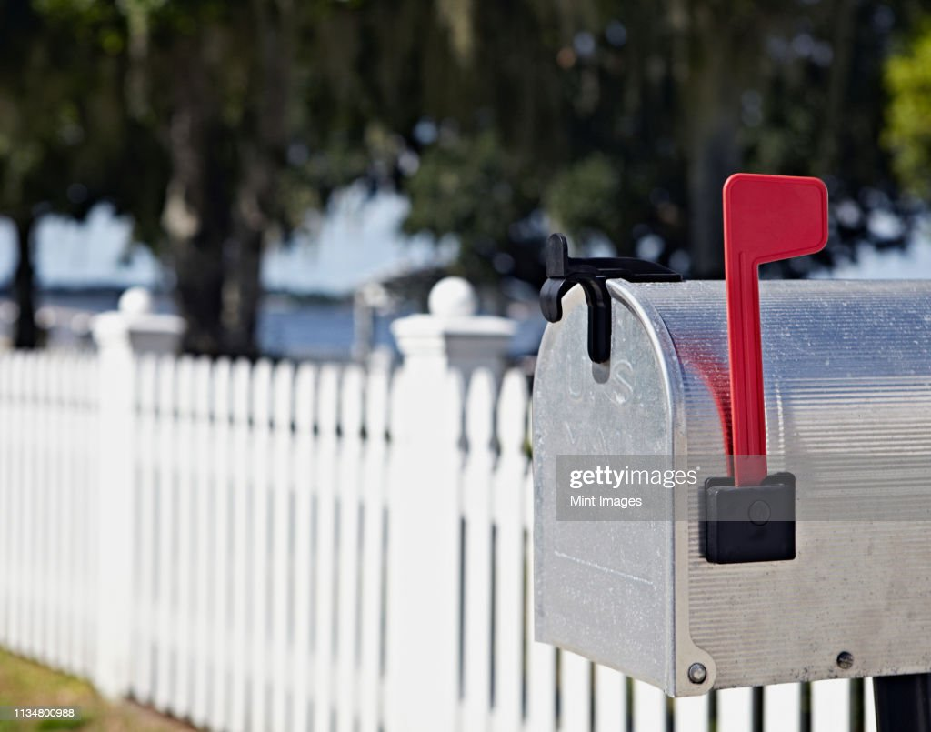 Residential Mailbox : Stock Photo