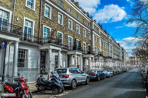 Residential neighborhood in London