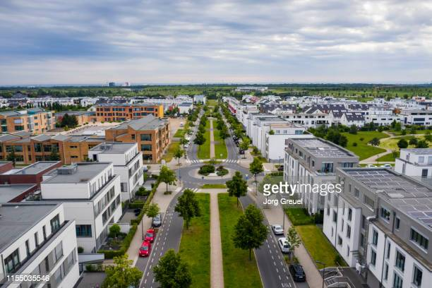 residential neighborhood - north rhine westphalia stock pictures, royalty-free photos & images